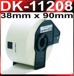 38mmx90mm dk roll dk11208 label sticker rolls