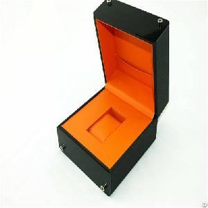 leather watch collect box