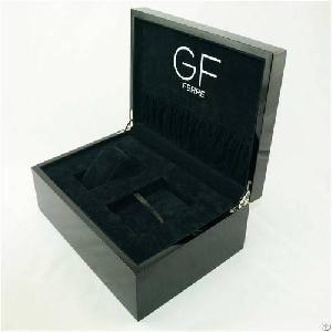 delicate fashion mens leather watch boxes