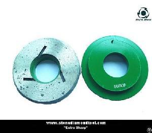 metal bonded grinding wheel snail lock