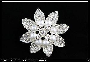 brooch clear crystal pearl bracelets pendants necklaces earrings hair combs