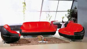 leather sofa living room modern l sharp seat upholstery furniture