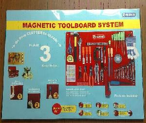 magnetic toolboard system