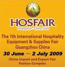 hospitality participate hosfair guangzhou 2009