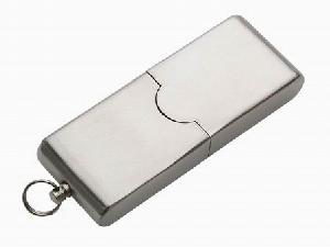 stainless steel case usb flash drive deluxe personalized promotional