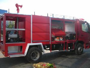 fire fighting truck plant