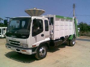 garbage truck isuzu