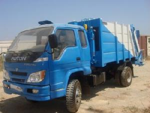 garbbage equipment mounted foton truck
