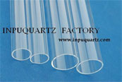 clear quartz tube