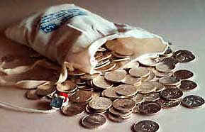 coin bag money bags