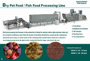 dry pet food processing line