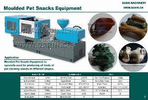 moulded pet snacks equipment