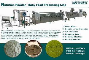 nutrition powder baby food processing line
