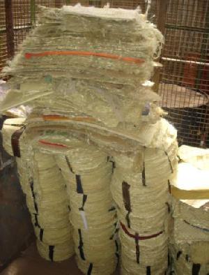aramid fabric scrap