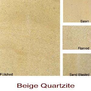 beige quartzite slabs tiles
