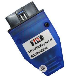 toyota key maker 4d chip