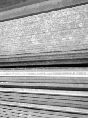 atmospheric corrosion resistant steel plate
