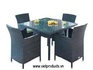 outdoor rattan furniture table 06710