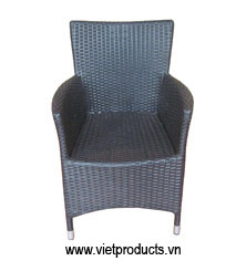 poly rattan chair 07633
