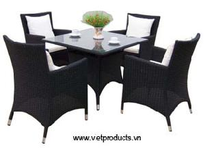 synthetic rattan coffee table 06702
