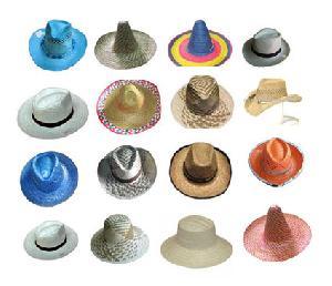 western cowboy straw hats