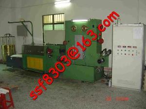 edm brass wire draing machine annealiner pl e22dt