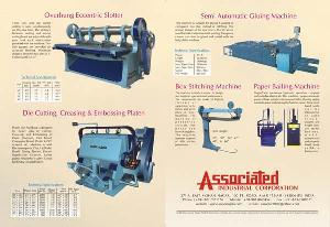 corrugated board die cutting machines paper lamination stitching
