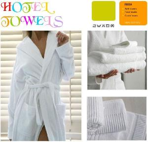 100 cotton towels bathrobes bath mats mitts spa hotel promotional kitchen beach wra