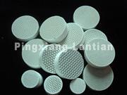 honeycomb pottery filter slice