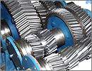 girth gear shafts cutting ring face ground gears casting precision worm