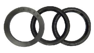 rubber bumper washer flange
