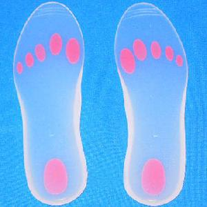 silicone insole shoe pad