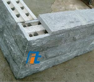 mushroom kerbstone granit concrete