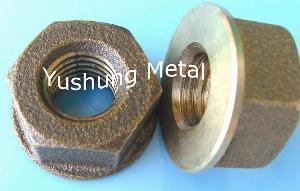 silicon bronze flange nut