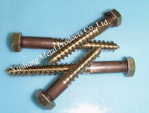 silicon bronze lag bolt