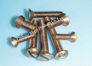 silicon bronze machine screw