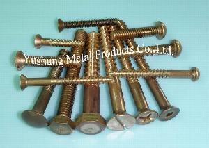 silicon bronze screw