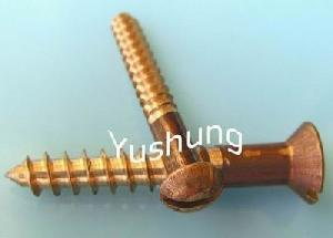 silicon bronze wood screw