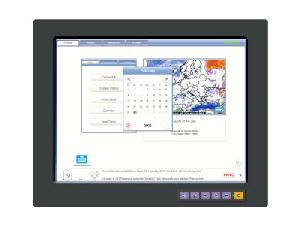 15 inches lcd industrial monitor ipmb touch screen