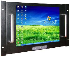 19 inches rack mount tft lcd monitor touch screen