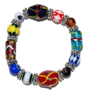 tibetan stone beaded bracelet