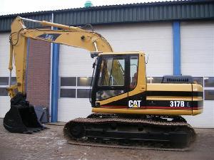 sold caterpillar 317 bl 318 excavator