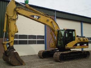 sold caterpillar 320 2003 excavator