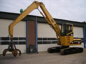 caterpillar 320 l excavator materialhandler scrap
