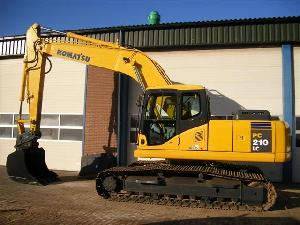 komatsu pc 210lc 7 excavator