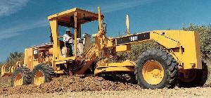 cat motor grader 16h 160h machine