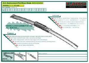 audi a6l flat beam wiper blade