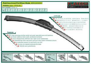 beam flat windshield wiper blade