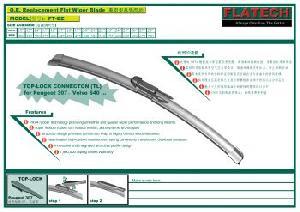peugeot 307 audi q7 aerotwin flat windshield wiper blade