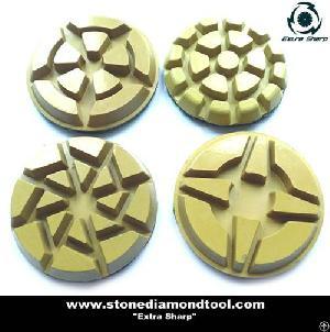 concrete floor polishing diamond soft pads
